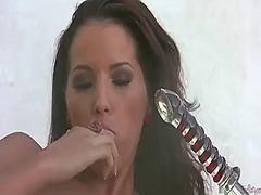 Porno: Afaitades, Masturbació