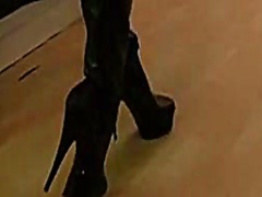 جنس: جلد, أحذية طويلة