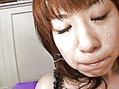 פורנו: גמירה על הפנים, גמירות, יפניות, גמירה המונית