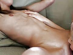 Porno: Masturbasya, Döşlər, Amcıq, Lezbi