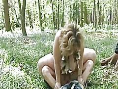 Porno: Gražuolės, Lauke, Blondinės