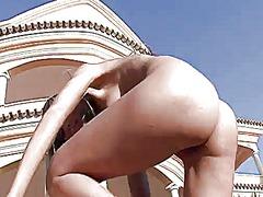 Porno: Təbii Döşlər, Masturbasya, Döşlər, Qırxılmış